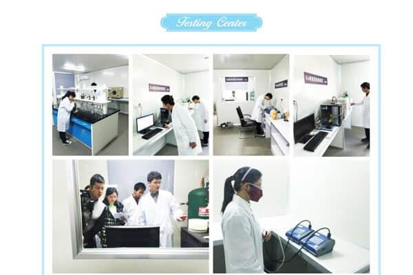 Chaomei company-test centre