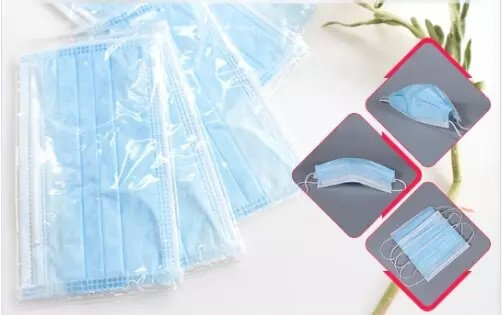 Disposable Surgical Face Mask-seperate package