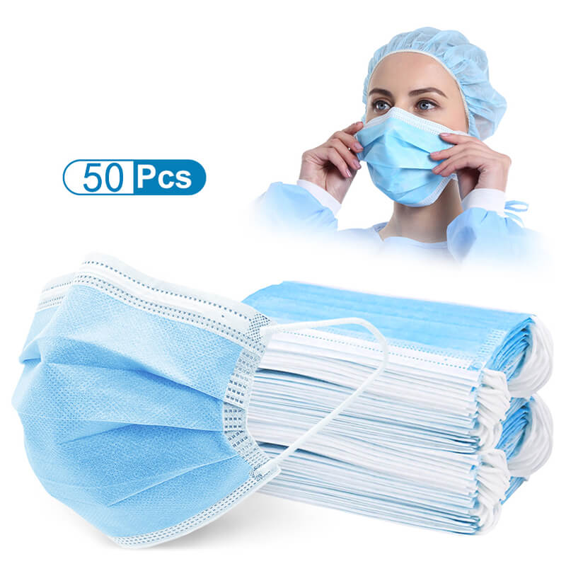 disposable medical face mask-doctor wearing