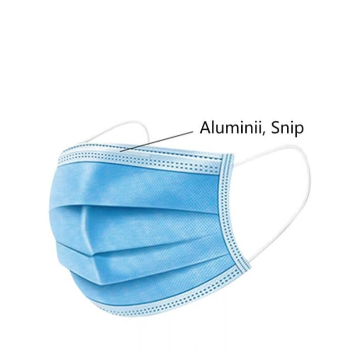 disposable medical face mask-snip